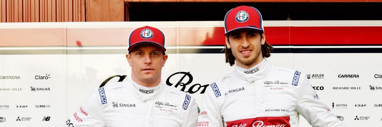 Alfa Romeo Racing - Raikkonen e Giovinazzi