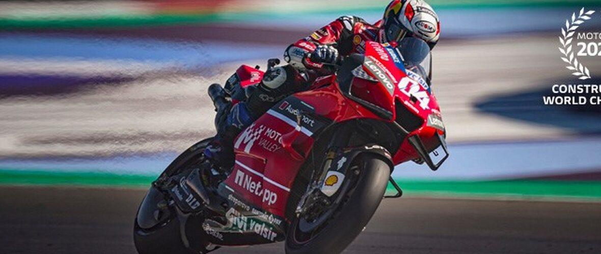 Ducati campione del mondo costruttori MotoGP 2020