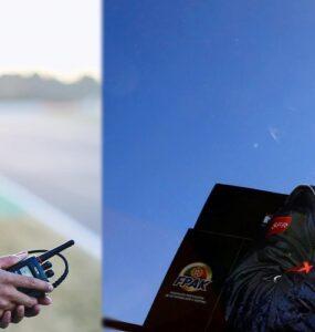 Lewis Hamilton e Sebastien Loeb