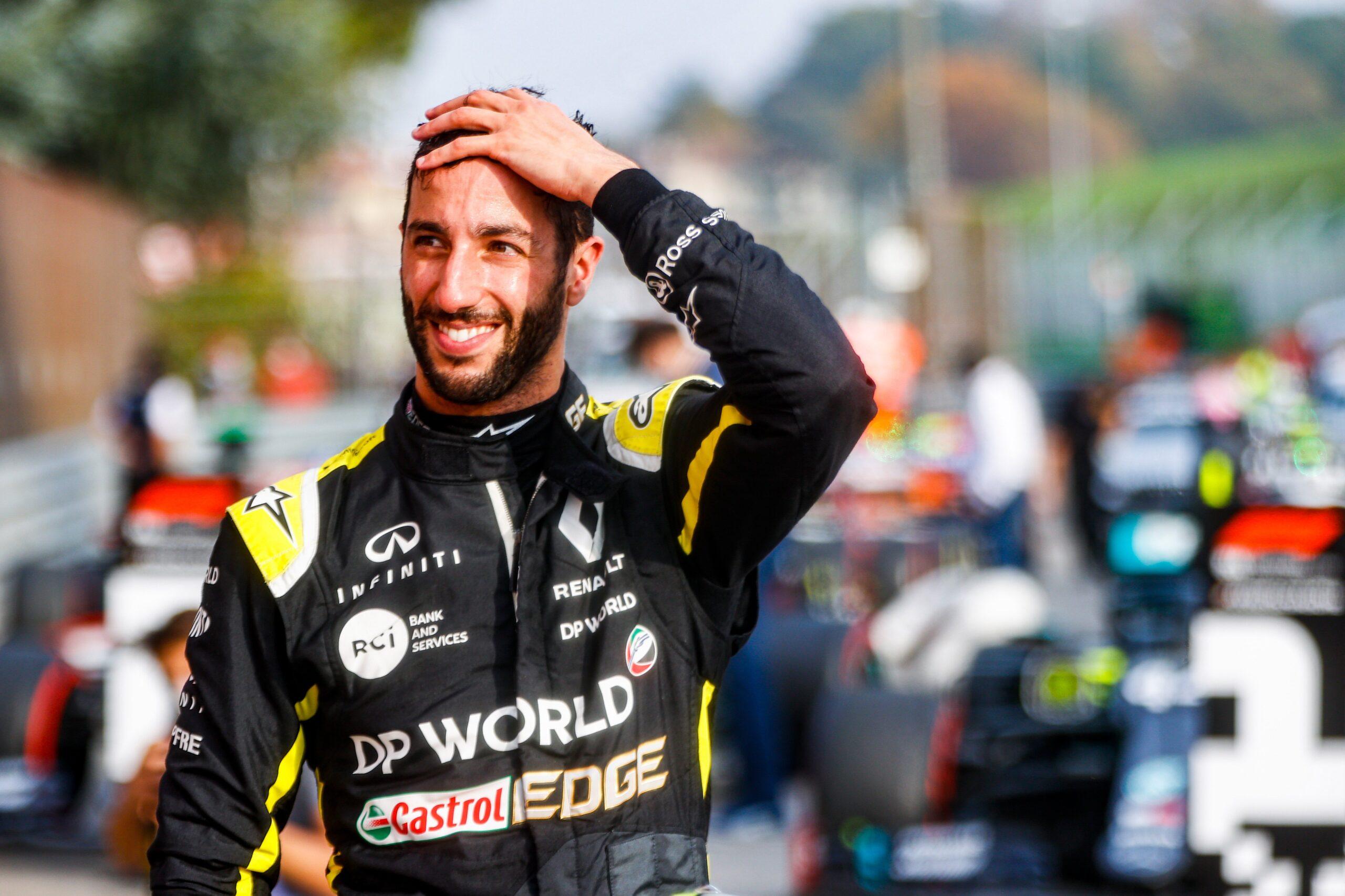 Daniel Ricciardo (AUS) Renault Formula 1 Team